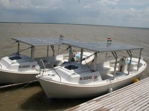 Solarboat cruise on the Lake Fertő
